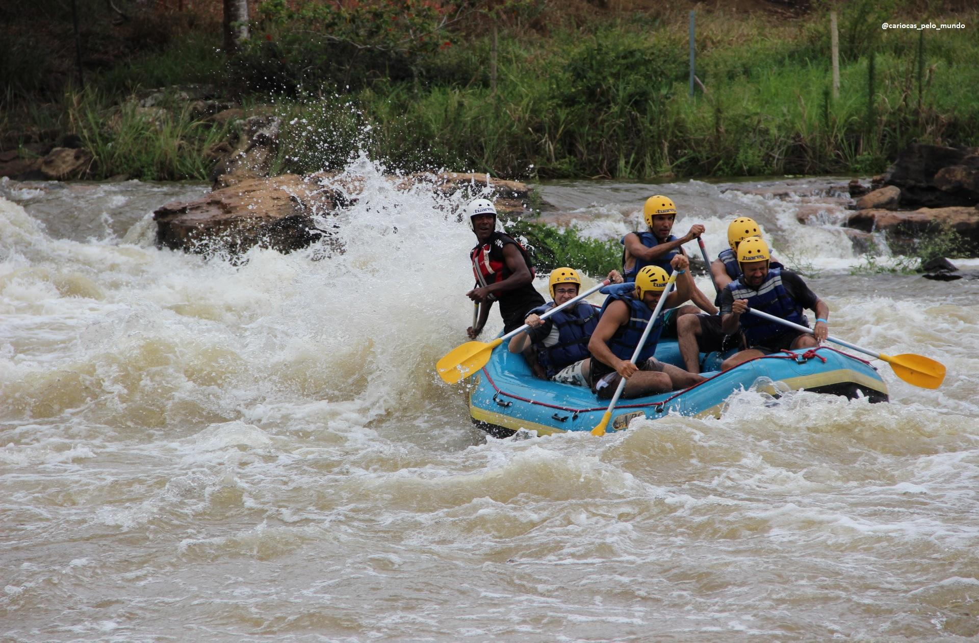 Rafting em Três Rios: turismo de aventura no RJ