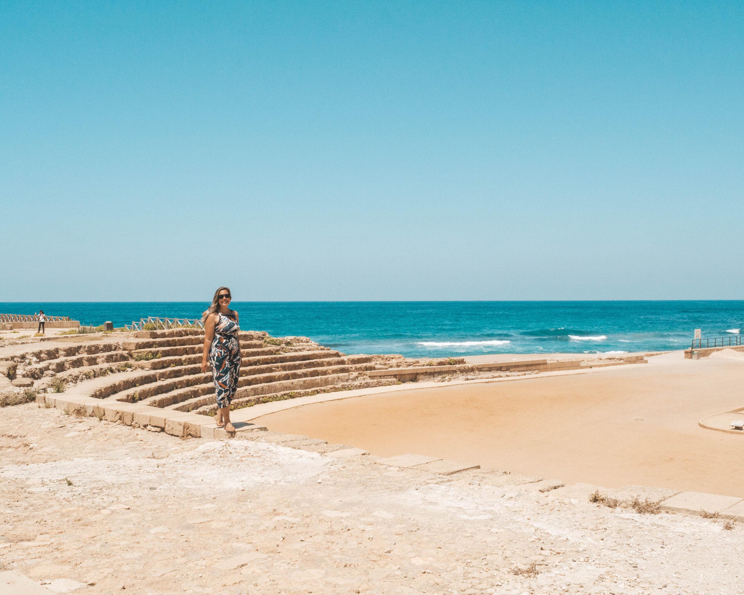 Parque Nacional de Caesarea: um bate-volta imperdível a partir de Tel Aviv
